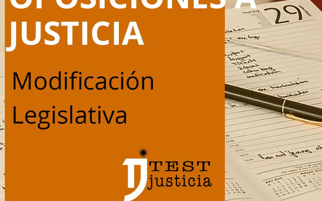 modificaciones temario oposiciones a justicia Ley 6/2020 reguladora de determinados aspectos de los servicios electrónicos de confianza